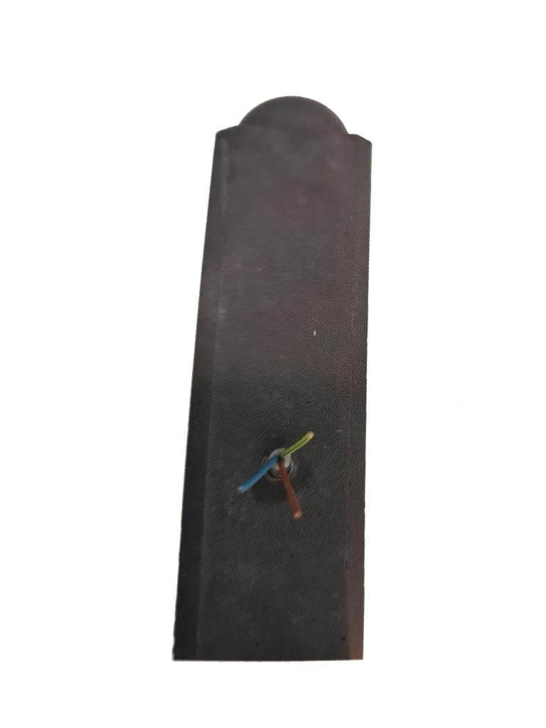 betonpaal met lichtleiding