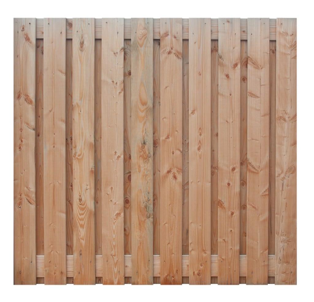 Tuinschermen -  Douglas houten scherm 21 planks 180 x 180 cm